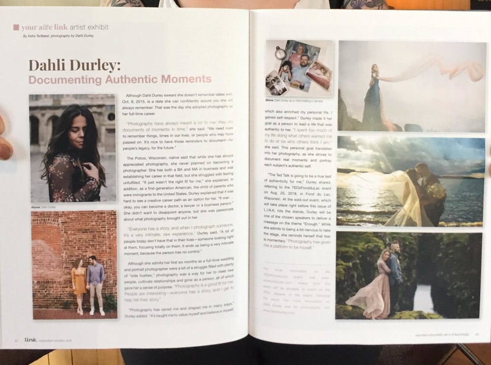 Dahli Durley: - Documenting Authentic Moments/ L.I.N.K. Magazine