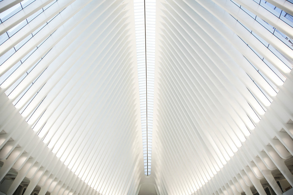 WORLD TRADE CENTER TRANSPORTATION HUB, OCULUS. PHOTO:  FILMVACATION