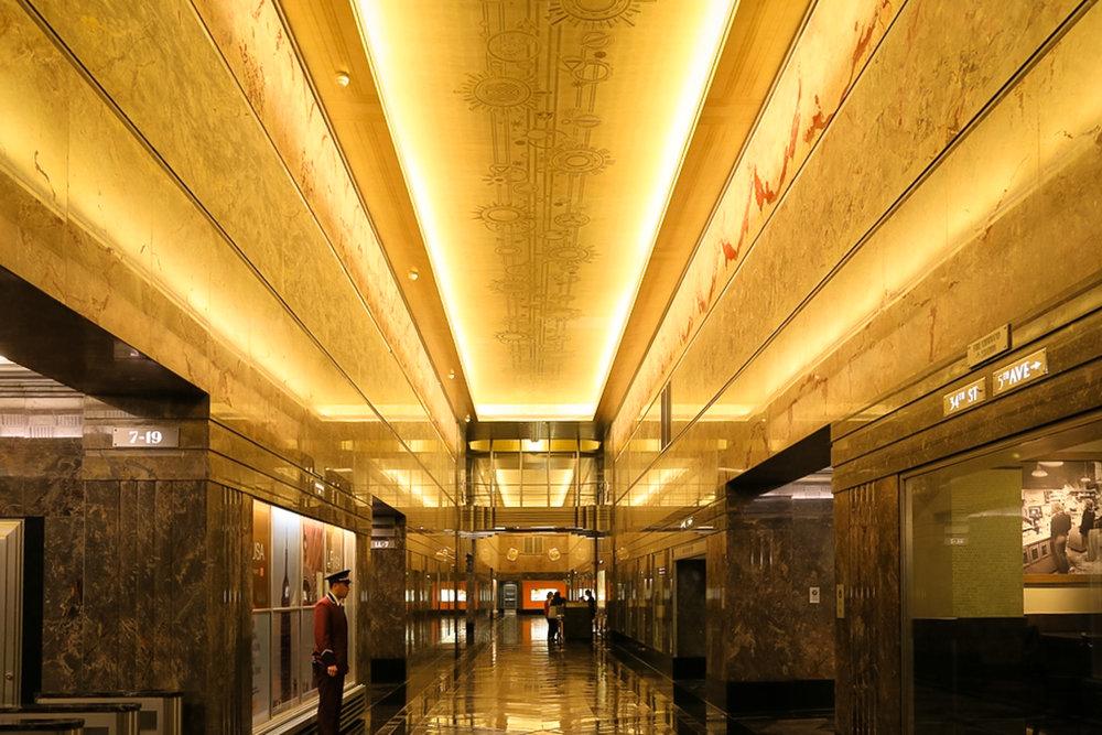 Lobby at the ESB
