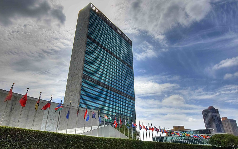 The mais building at the united nations headquarters. Photo: Lucas Compan