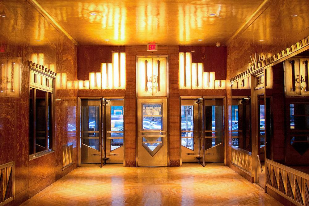 The Building Entrance lobby. photo: lucas compan