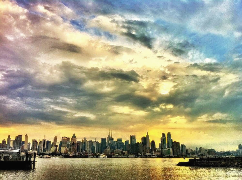 THE SKY AFTER THE STORM. FROM HOBOKEN. PHOTO: LUCAS COMPAN