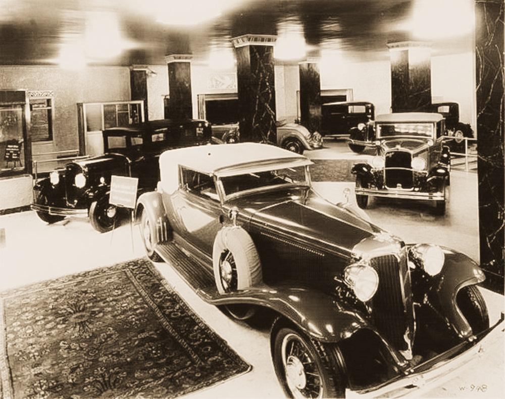 Chrysler show-room