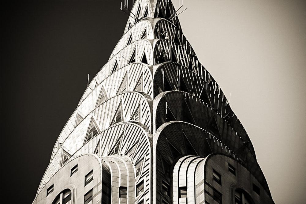 the chrysler building spire