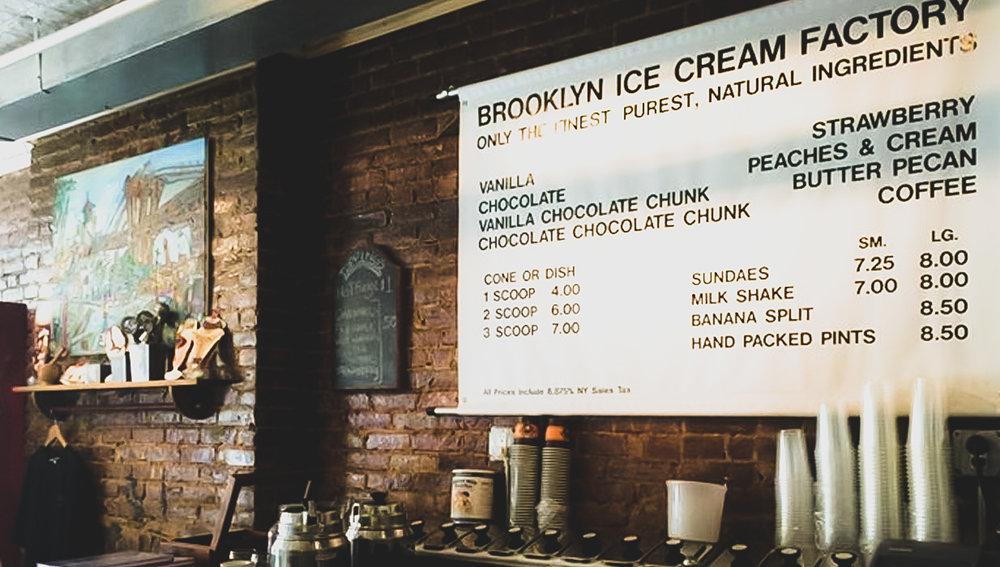 Few flavors, which I love it. Photo: lucas compan