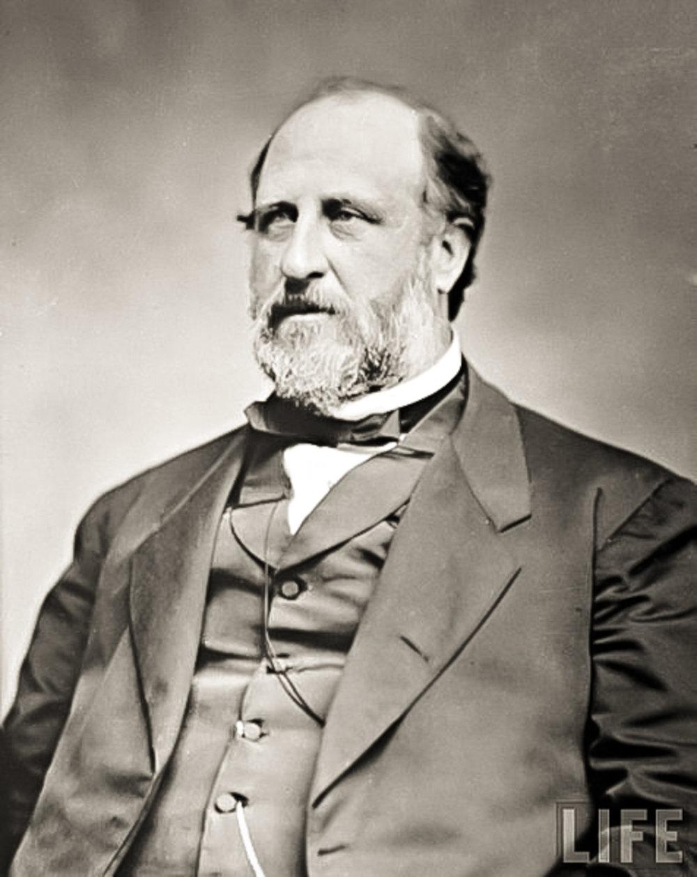 Boss Tweed nel 1870.IMMAGINE: PUBBLICO DOMINIO