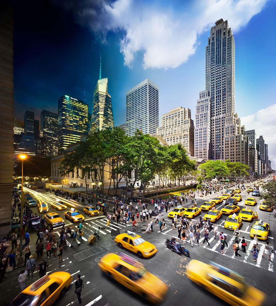 NEW YORK PUBLIC LIBRARY TRA LA FIFTH AVENUE E 42ND STREET,NEW YORK