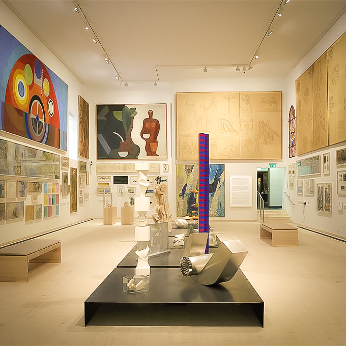 EXHIBITION IN THE NOGUSHI MUSEUM. IMAGE: COURTESY NOGUSHI MUSEUM