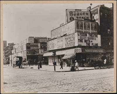 Broadway & 42nd Street, 1898. (Image: courtesy of the Museum of the City of New York)