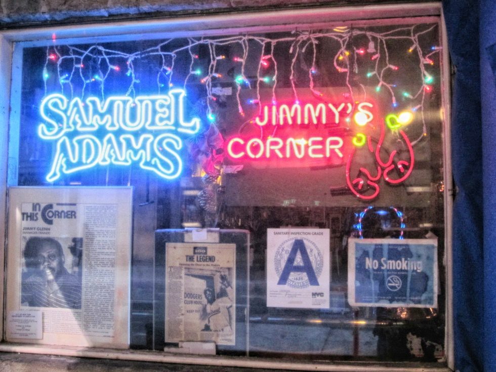 Jimmy's Corner    on 140 W 44th St between Broadway & 7th Ave