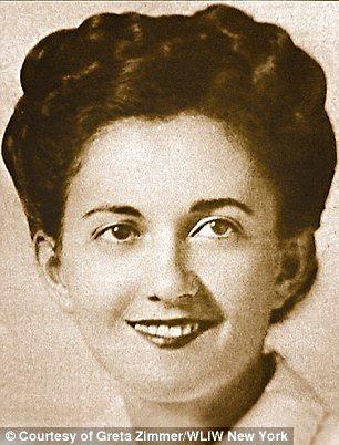 Greta Zimmer , the nurse, 21 years-old in August 1945