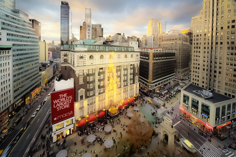 Macy's flagship store on 34th Street at Herald Square, known as the big macy's