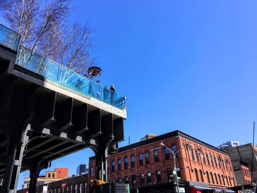 the high line in the meatpacking district. Photo: Lucas Compan