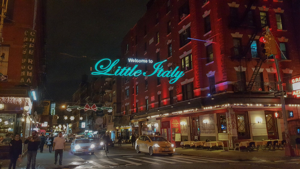 MULBERRY STREET: THE HEART OF LITTLE ITALY, MANHATTAN, NEW YORK CITY. Photo: Lucas Compan