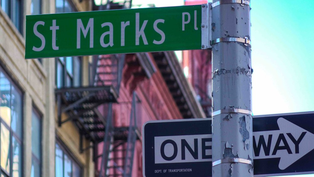 The heart of the East Village and probably the coolest street in the usa: St. marks place. Photo: lucas compan
