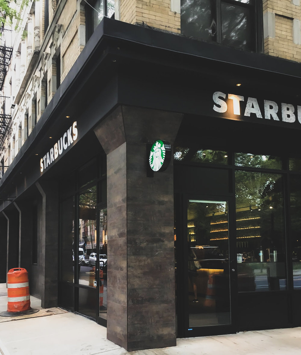 SAME LOCATION ON ST. MARK'S PLACE: NOW A STARBUCKS COFFEE