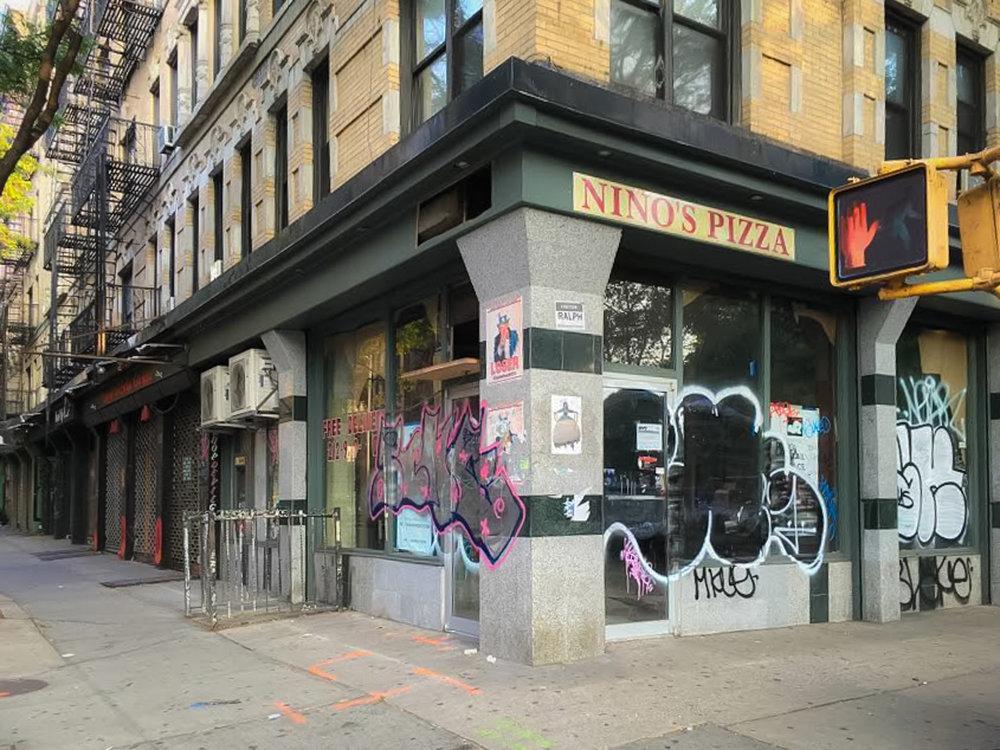 EX SEDE DI NINO'S PIZZA IN ST.MARK'S PLACE