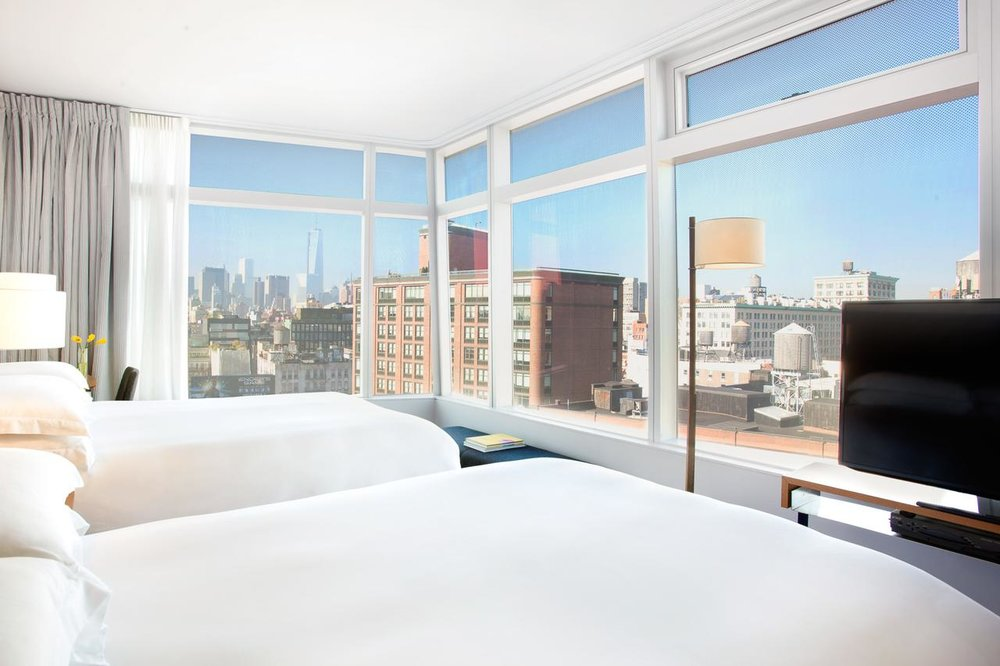 THE BEST LOCATION, LOCATION, LOCATION AND THE BEST PRICE, PRICE, PRICE. THIS IS WHAT YOU GET FROM US.  (photo: the standard hotel, east village)