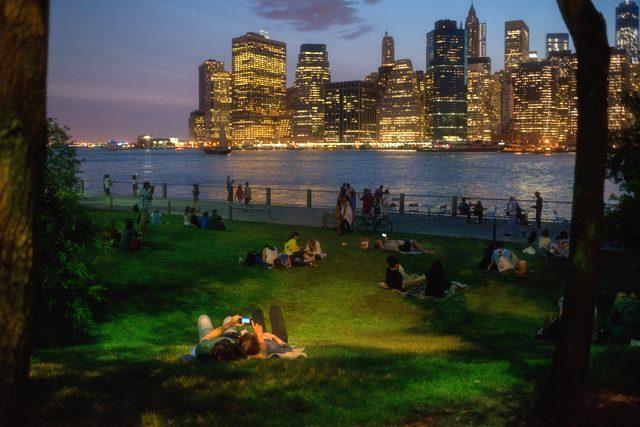 Brooklyn Bridge Park - Pier 1. Photo: Julienne Schaer