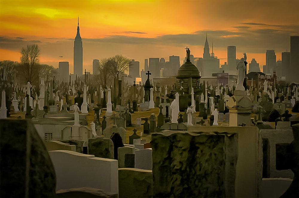 Calvary Cemetery, Maspet- Woodside, Queens. photo: untapped citieis