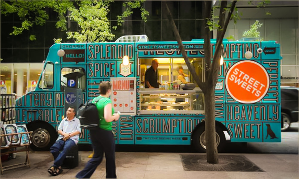 Sweetery: NYC's dessert truck and event catering company. Image: Sweetery