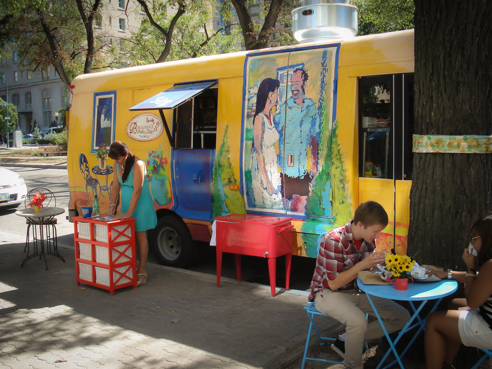 Food truck in Brooklyn, New York. Photo: Lucas Compan