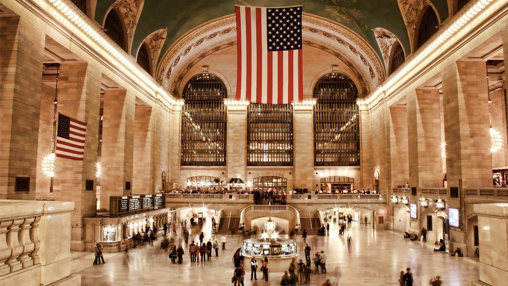Grand Central Terminal interior – from Apple Store. Photo: Lucas Compan