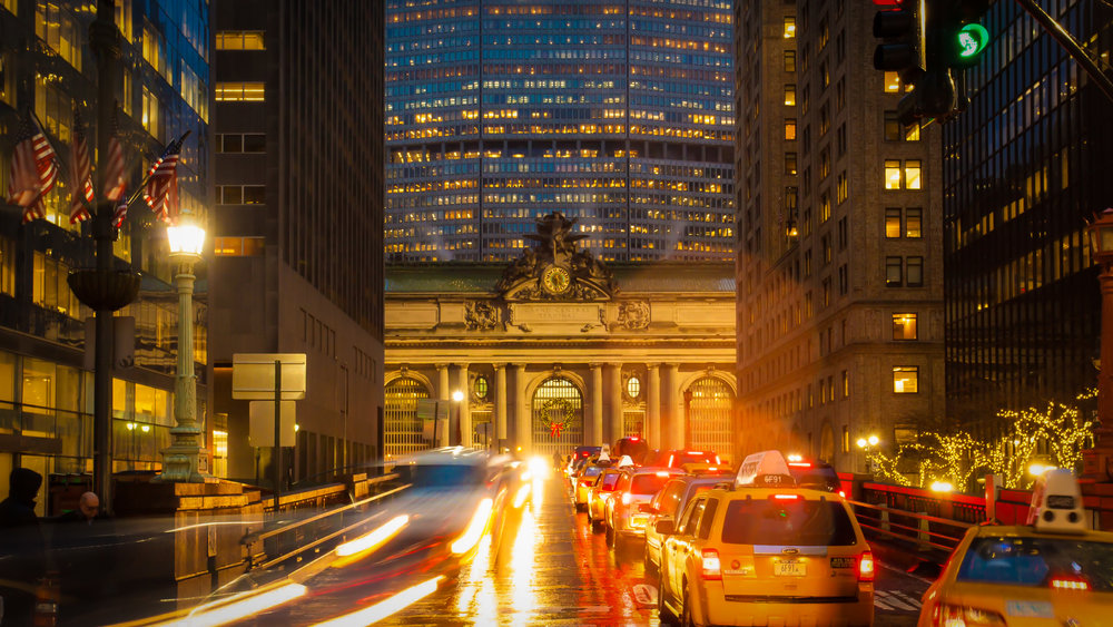 grand central terminal from park avenue south. photo: lucas compan