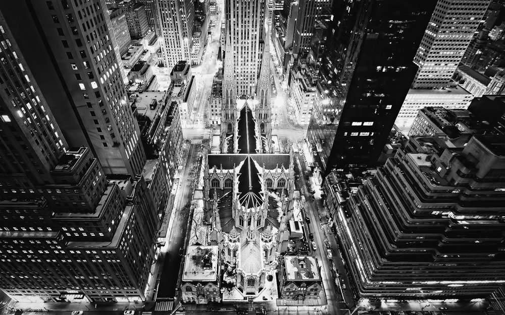 St. Patrick's Cathedral. Image: NYPL