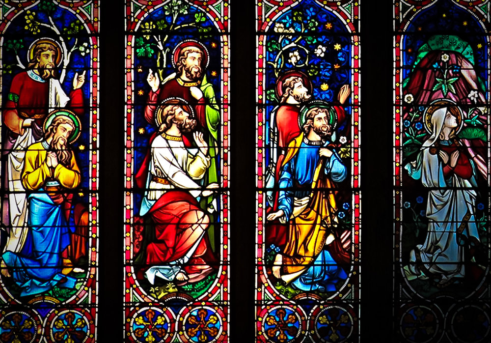 St. Patrick's Stained Glass Windows Come From France and All Over The World. Photo: lucas compan