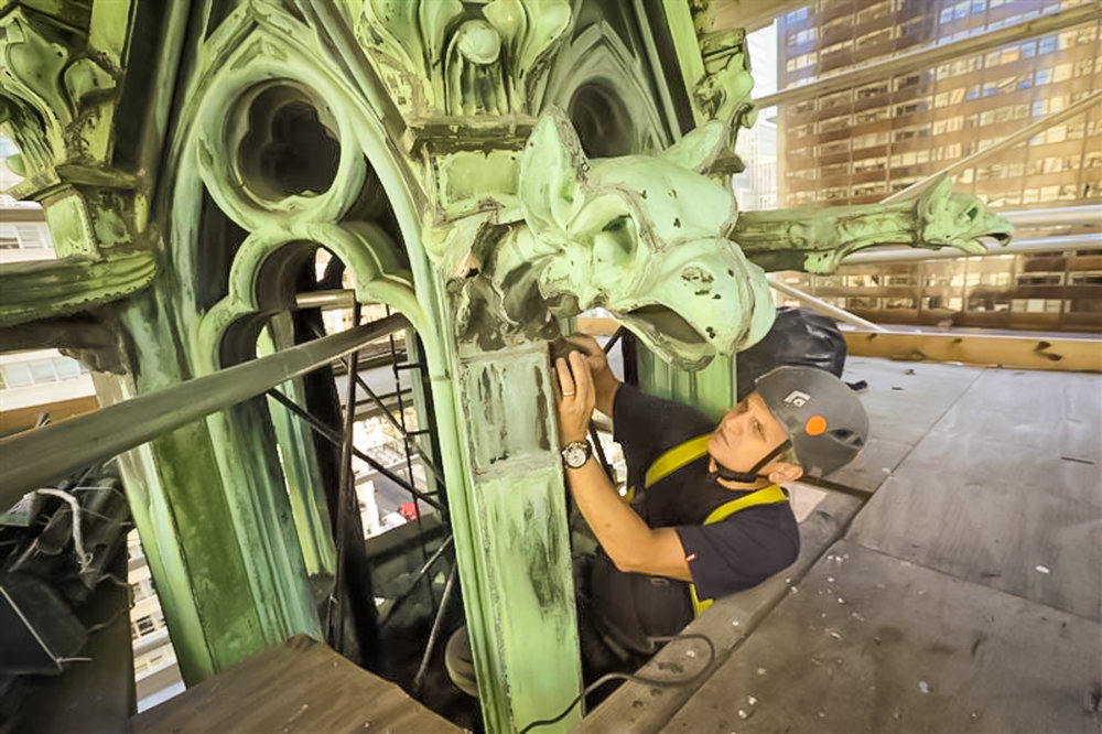Part of St. Patrick's Cathedral Was Recycl. Image: courtesy of St. Patrick's cathedral