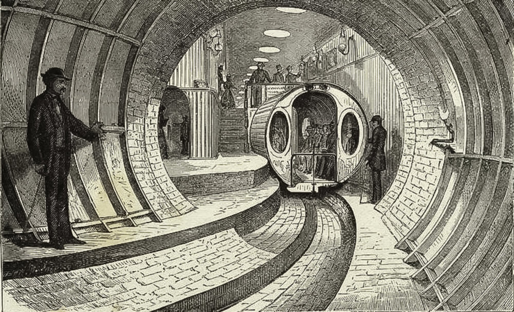 Operated as a demonstration from 1870 to 1873, the short tunnel had only the one station and train car. While frequently mentioned as an important early development in New York City's transit history, it was merely a curiosity.