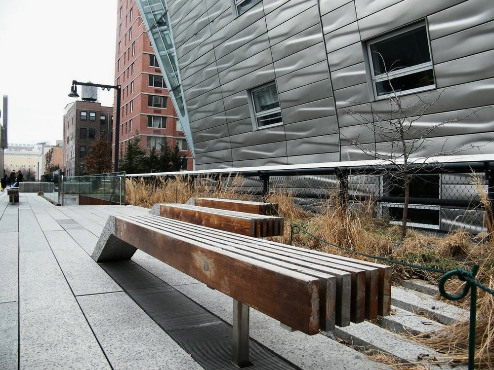 the impact of modern architecture along the high line is impressive. Photo: lucas compan
