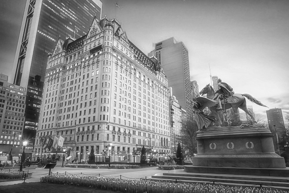 The Plaza Hotel, new york city. Photo:    @lucascompan