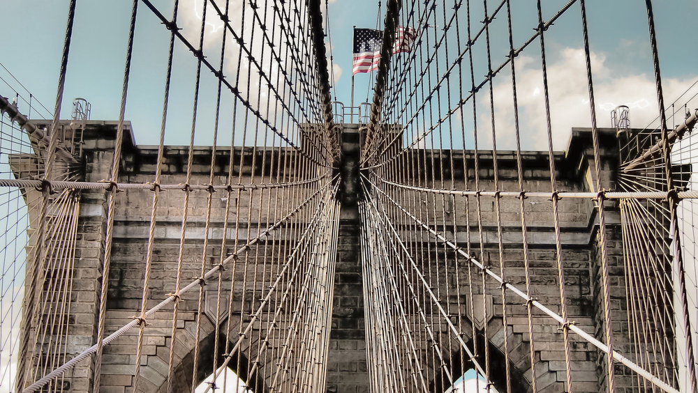 the brooklyn bridge is probably the most beloved attraction by both locals and tourists. photo:    @lucascompan