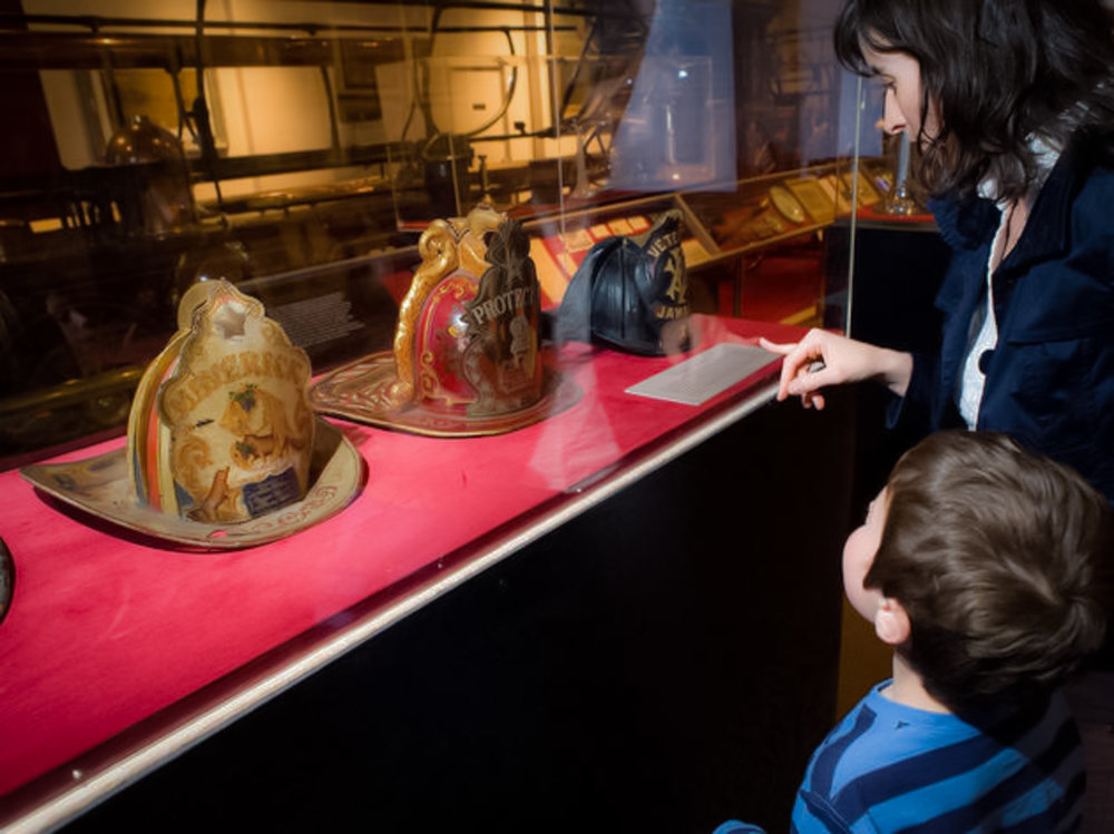 the nYC fire museum: learn and have fun at the same time. image: google