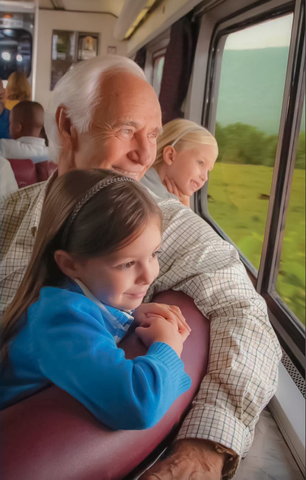 Train trips tailor-made for kids. Photo credit:  amtrak