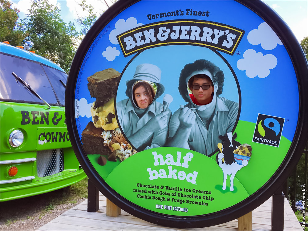 ben & jerry's factory tour: sweet fun all the time. image: ben & jerry's