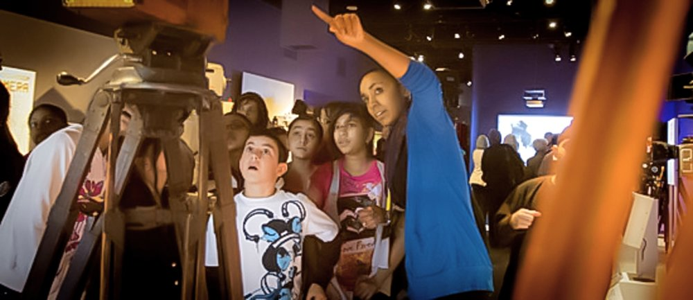 Museum of the Moving Image provides curriculum-based educational experiences to approximately 70,000 students each year, as well as an array of dynamic, engaging tours, talks, workshops, and screenings for children, teens, families, adults, and seniors. Image credit:   Museum of Moving Image