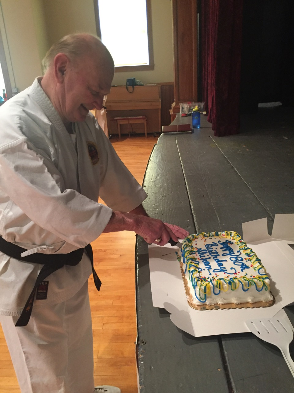 Happy Birthday Shihan Powell, 80 years strong and an inspiration to us all!