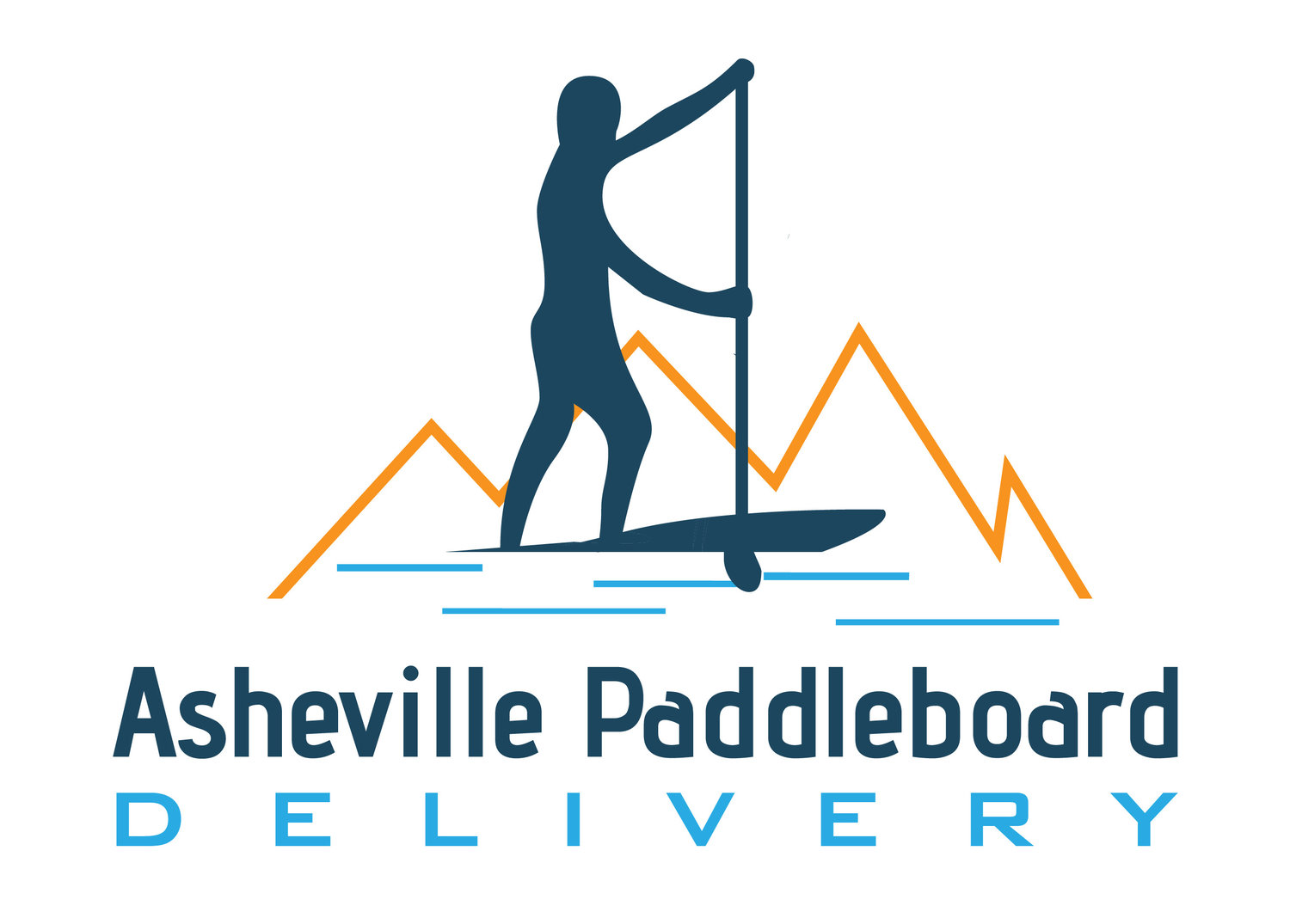 Asheville Paddleboard Delivery