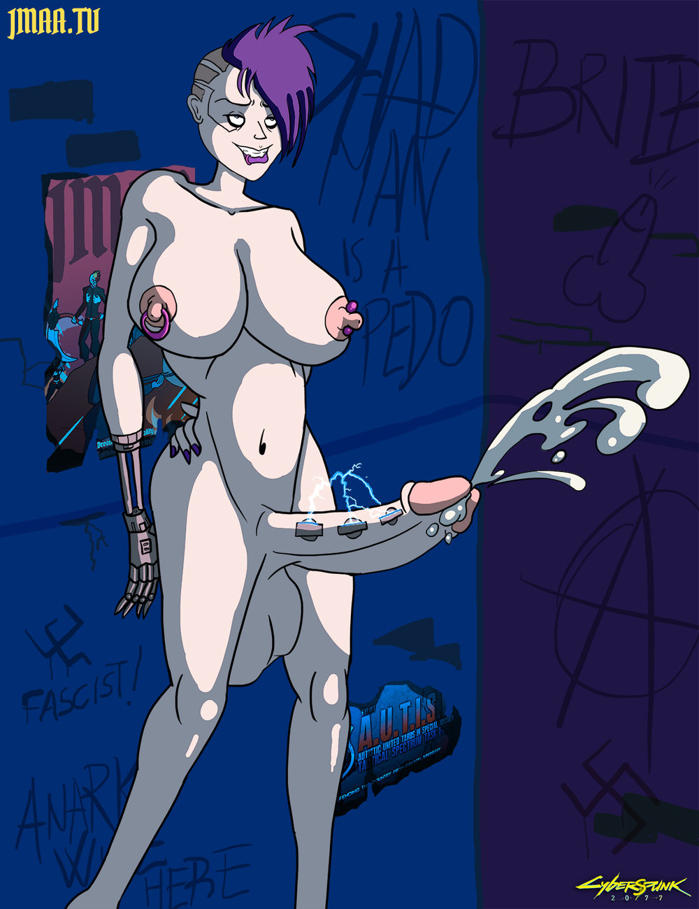 Cyberspunk 2077 - Genital Augmentation