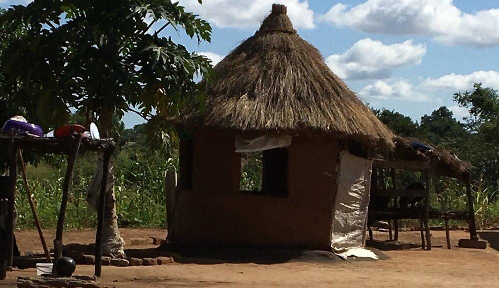 First things first: the winning huku imba (chicken house)!