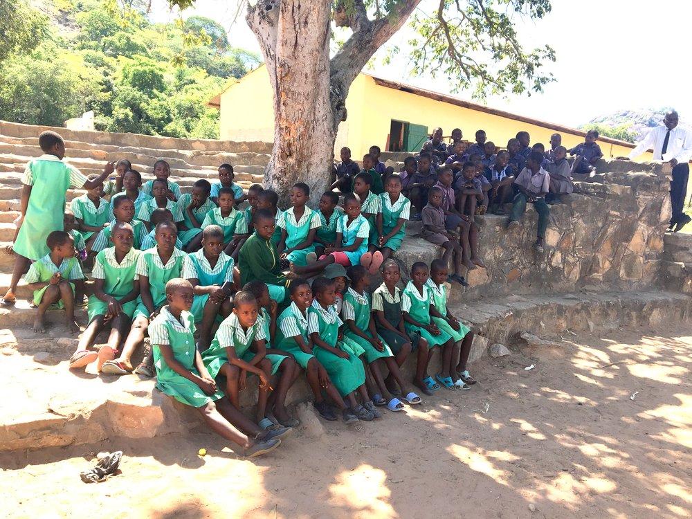 Zienzele Kids at Chikofa Primary!