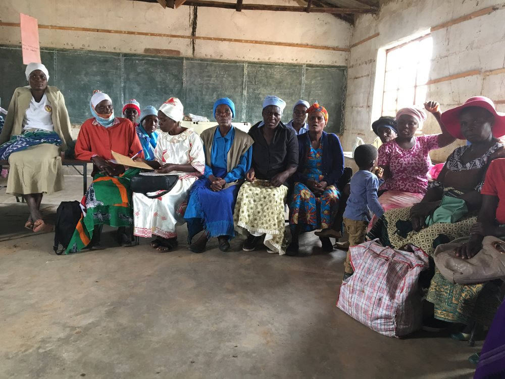 THE MUSHAI BASKET GROUP:  these women work hard to make sure children like Prudence get the chance to be top of their class!