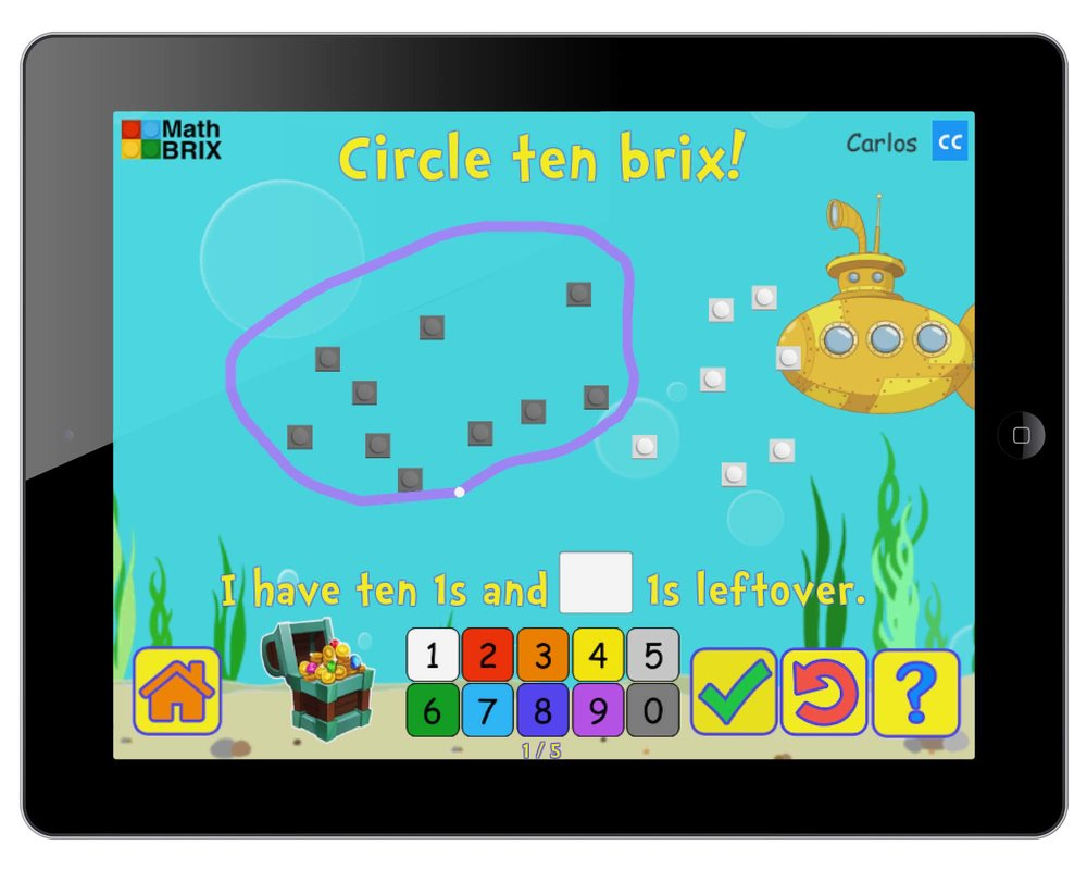 Mathbrix games are great iPads, Android, and other touch-screen devices.