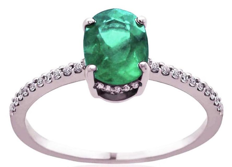 anel noivado verde julia blini  1 - Qual seu estilo de anel de noivado?