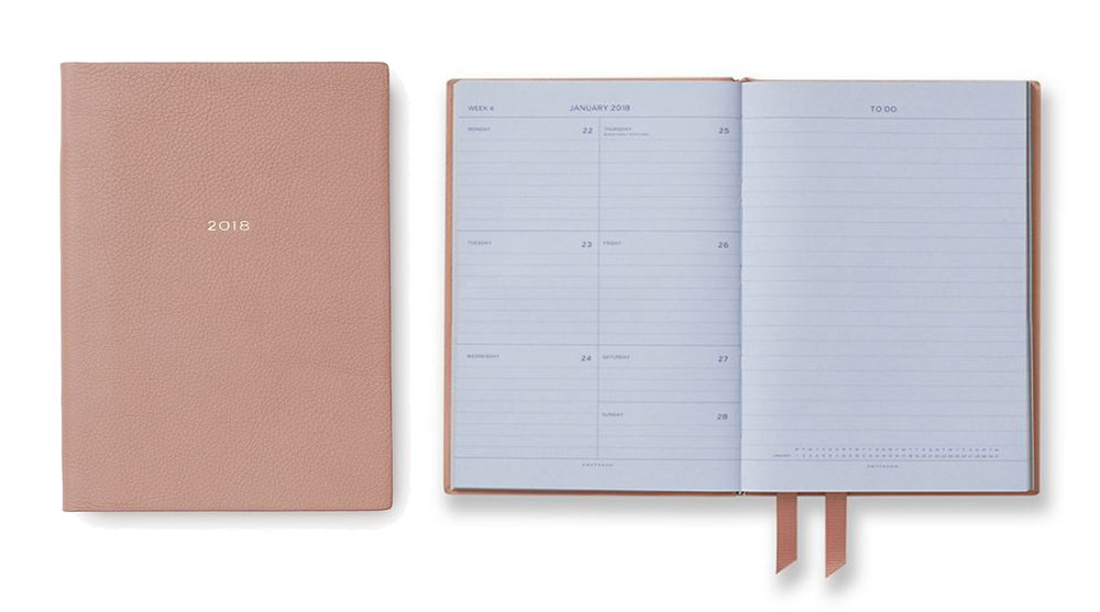 smythson - Planners for 2018? I've got you covered