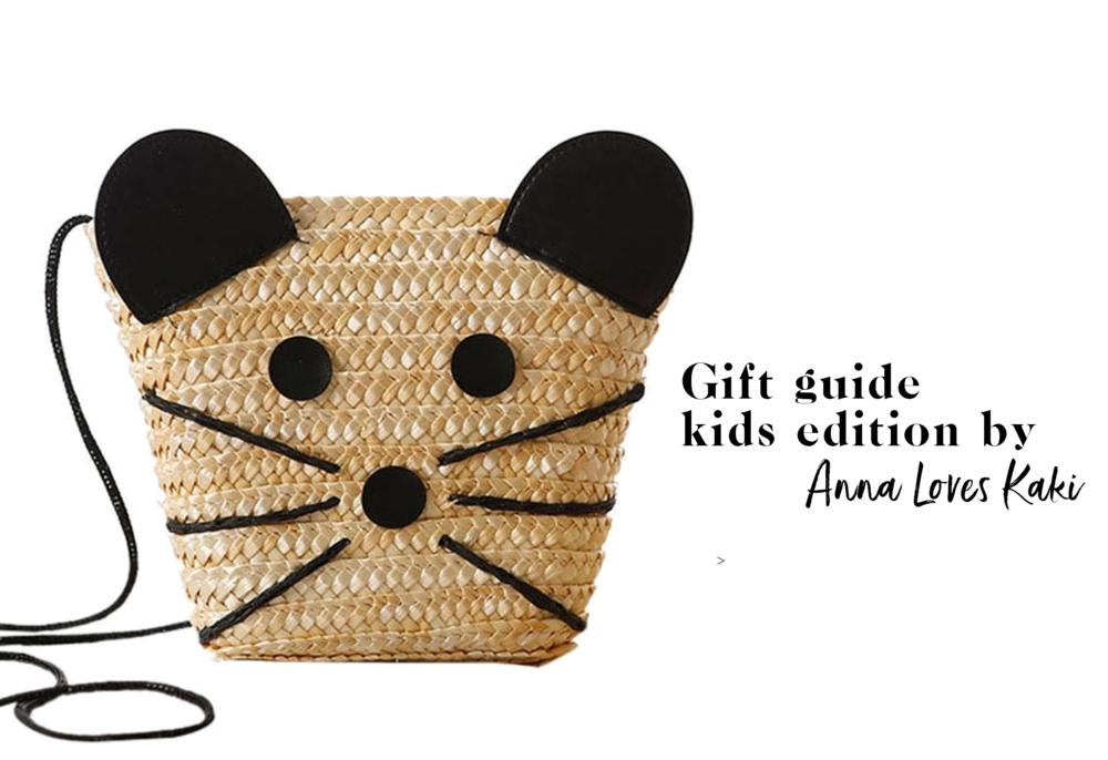 banner slide - Gift guide kids edition by Anna Loves Kaki