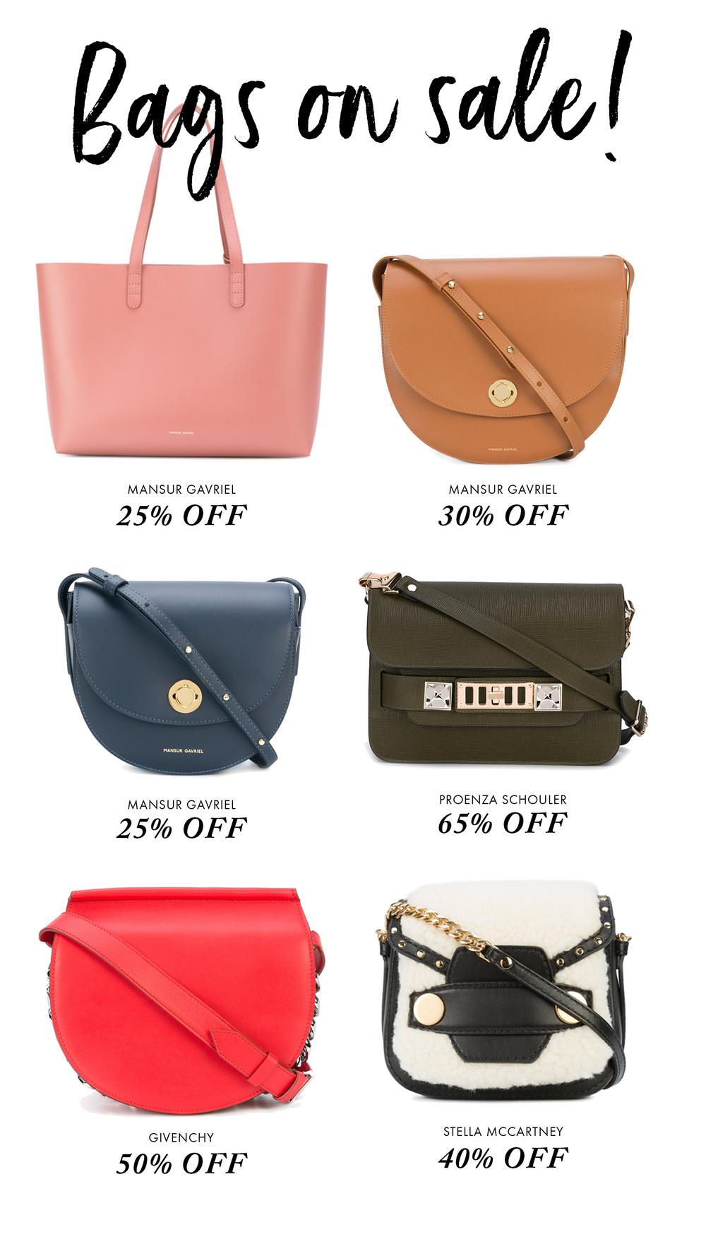 bags on sale - As bolsas mais incríveis da liquidação da Farfetch